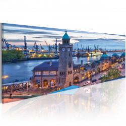 Obraz  Hamburk  přístav