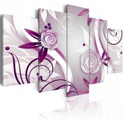 Obraz  Violet roses