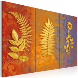 Obraz  Dried flowers  triptych