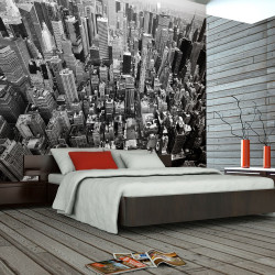 Fototapeta  Spojené státy, New York černobílý