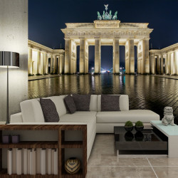 Fototapeta  Brandenburg Gate at night