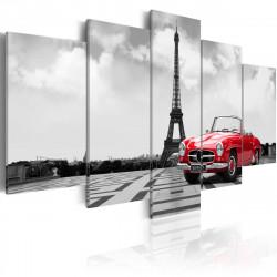 Obraz  Parisian car