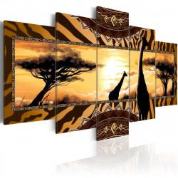 Obraz  African giraffes