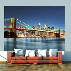 Fototapeta  Sparkling Brooklyn Bridge