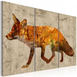 Obraz  Fox in The Wood