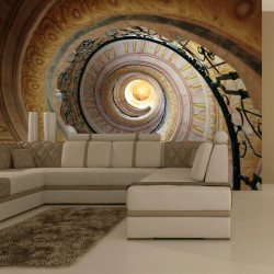 Fototapeta  Decorative spiral stairs