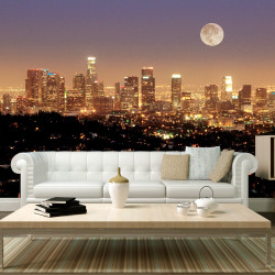 Fototapeta  The moon over the City of Angels