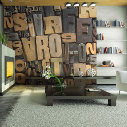 Fototapeta  Wooden letters