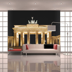 Fototapeta  Pariser Platz with the Brandenburg Gate, Berlin