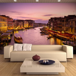 Fototapeta  City of lovers, Venice by night