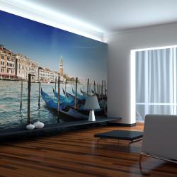 Fototapeta  Gondolas and St Marks Campanile, Venice