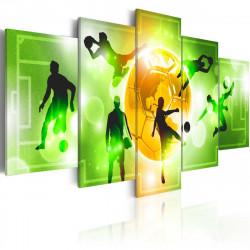 Obraz  I Love Soccer