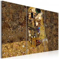 Obraz  Klimt inspiration  Kiss