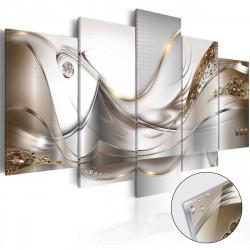 Obraz na akrylátovém skle  Golden Flight [Glass]