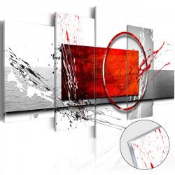 Obraz na akrylátovém skle  Wintry Expression [Glass]