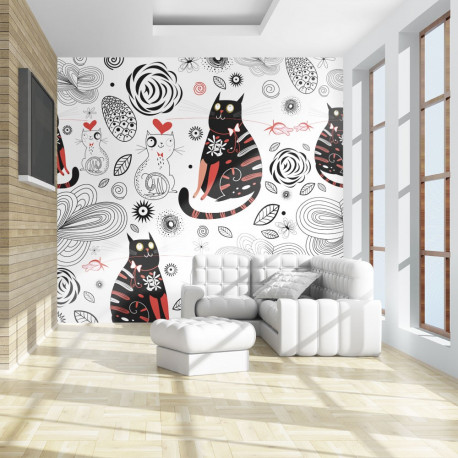 Fototapeta  Cats in love