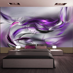 Fototapeta XXL  Purple Swirls II