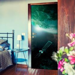 Fototapeta na dveře  Green Galaxy