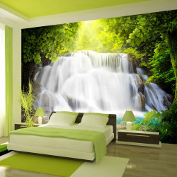 Fototapeta - Arcadian waterfall