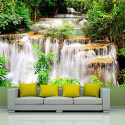 Fototapeta - Thai waterfall