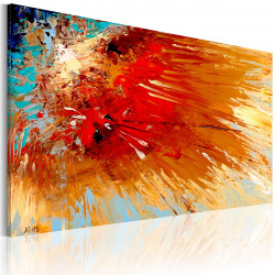 Ručně malovaný obraz  Explosion
