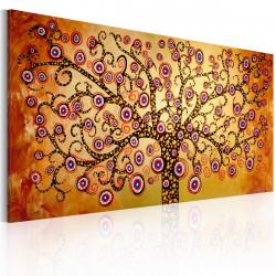 Ručně malovaný obraz  Paví strom