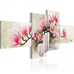 Ručně malovaný obraz  Fragrance of magnolias