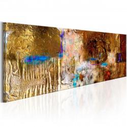 Ručně malovaný obraz  Golden Structure
