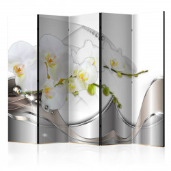 Paraván  Pearl Dance of Orchids II [Room Dividers]
