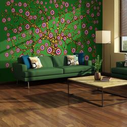 Fototapeta  abstrakce strom (zelený)
