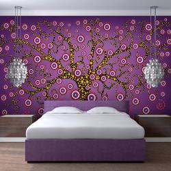 Fototapeta  abstrakce strom (fialový)