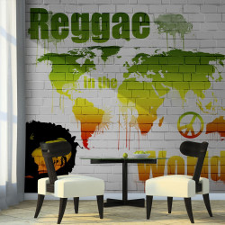 Fototapeta  Reggae in the world