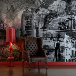 Fototapeta  Londýn, Londýn... (černobílý)