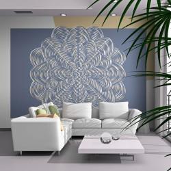 Fototapeta - White ornament