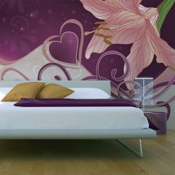 Fototapeta  Lily in violets