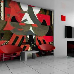 Fototapeta  Art composition in red