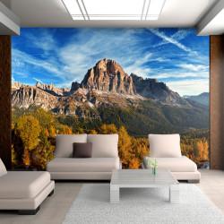 Fototapeta  Panoramic view of Italian Dolomites