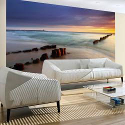 Fototapeta  Pláž  východ slunce