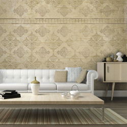 Fototapeta  Faded baroque wallpaper