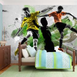 Fototapeta  Soccer stars