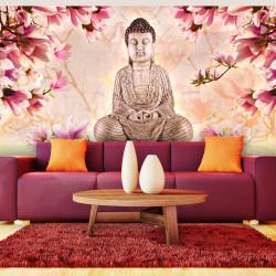 Fototapeta  Buddha a magnólie