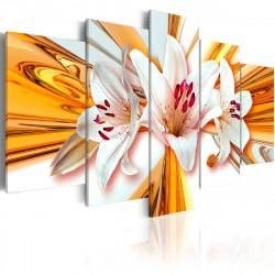 Obraz  Orchideje se zlatem