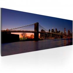 Obraz  Brooklynský most  panoráma