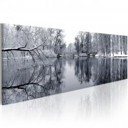 Obraz  krajinomalba zima