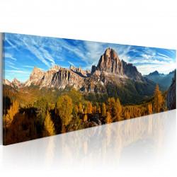 Obraz  hora, krajina  panoráma