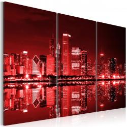 Obraz   Červené Chicago