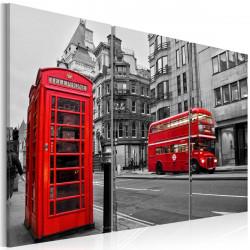 Obraz  Život v londýně