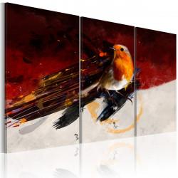 Obraz  Barevný ptáček