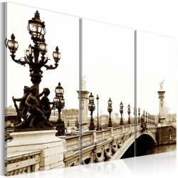 Obraz  Romantická procházka po Paříži