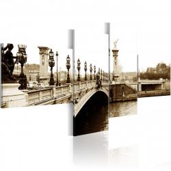 Obraz  Most Alexandra III v Paříži